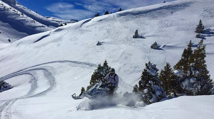 Ride harder & Own the mountain like never before ! polaris fxr ...