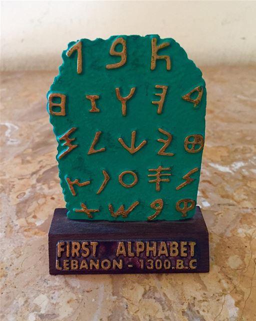 ourhistory firstalphabet oldisgold historical whatsuplebanon ... (Ghaziyé, Al Janub, Lebanon)