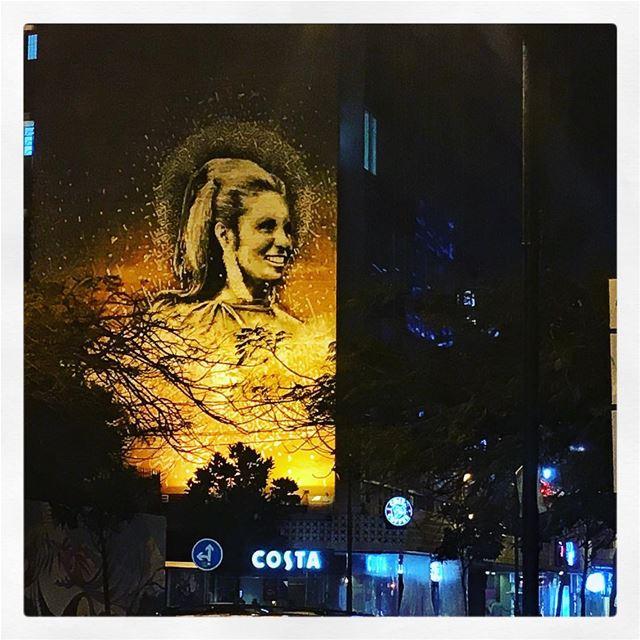 ألو بيروت من فضلك يا عينيّي... صباح (شارع الحمرا بيروت)