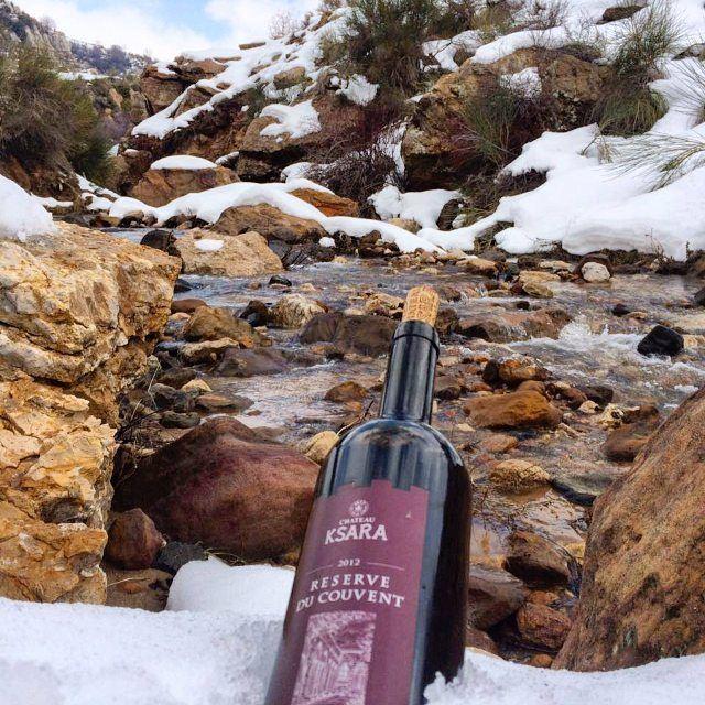 wine snow river water ksara lebanon rocks picoftheday photographer...