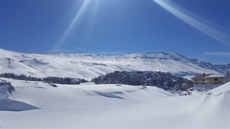 Winter yummies snowshoeing snow mountains lebanon_hdr ptk_lebanon ...