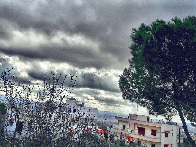 Burrr❄😨・・・・・ ainebel cold weather landscapelovers landscape... (Ain Ebel عين إبل)