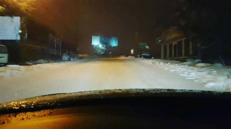 Destination ➡Faraya 🌪🌨❄💪 winter winterseason faraya snow storm ... (Faraya, Mont-Liban, Lebanon)