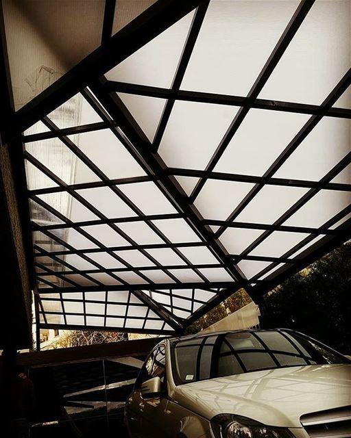 pergola steel polycarbonate lebanon lebanon🇱🇧 lebanonarchitecture ... (Brumana, Mont-Liban, Lebanon)