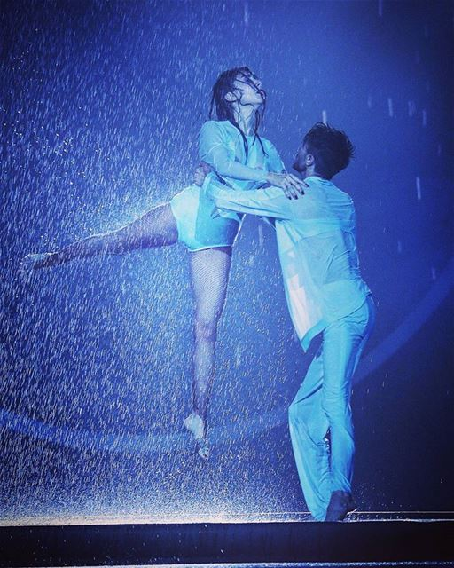 You can't have a rainbow 🌈 without a little rain! 🌧Choreographers @ianba