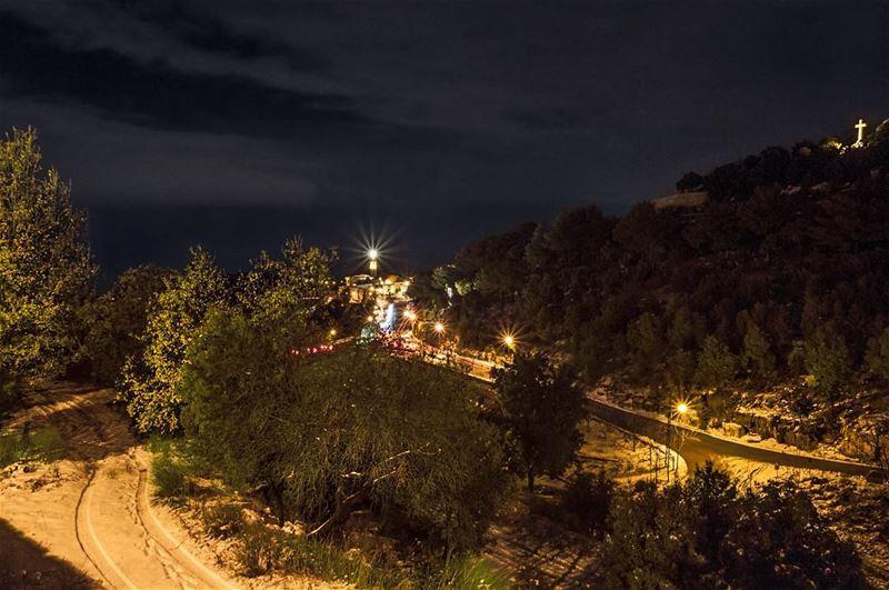 St.Charbel Annaya••• lebanon lebanon_hdr Livelovelebanon annaya ... (St. Charbel, Aannaya)