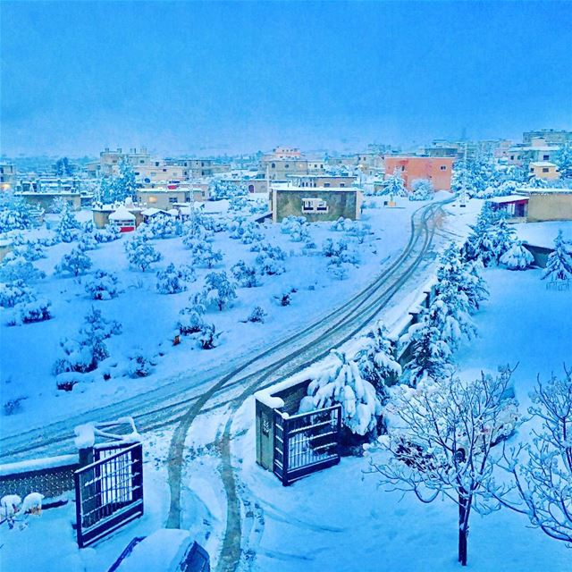 snow hermel livelovelebanon ... (Hermel)