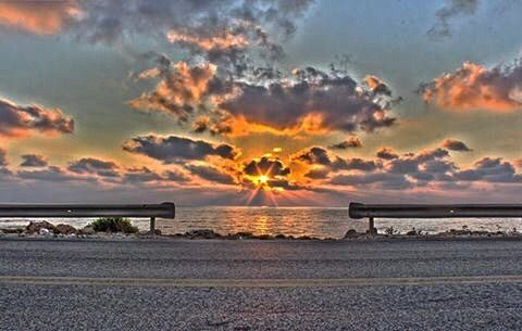 Goodnight from Naqoura south Lebanon🌅 Lebanon lebanese insta_lebanon ... (الناقورة / Al Naqoura)