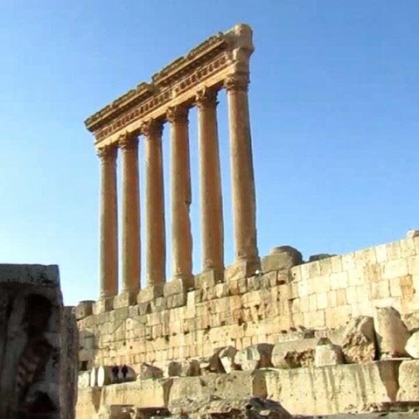 """A magnificent view from the """"Sun City""""... baalback livelovebaalbeck ..."""