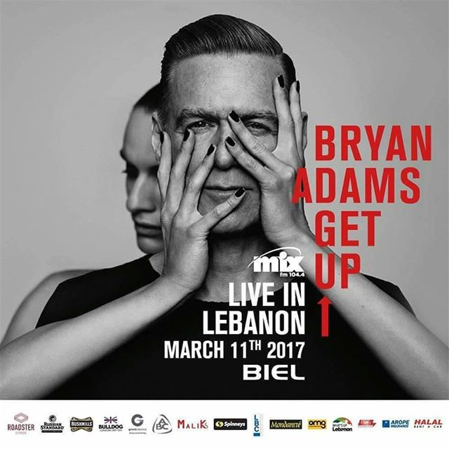 Bryan Adams live in Lebanon soon!!!! The rock icon will be on our shores...