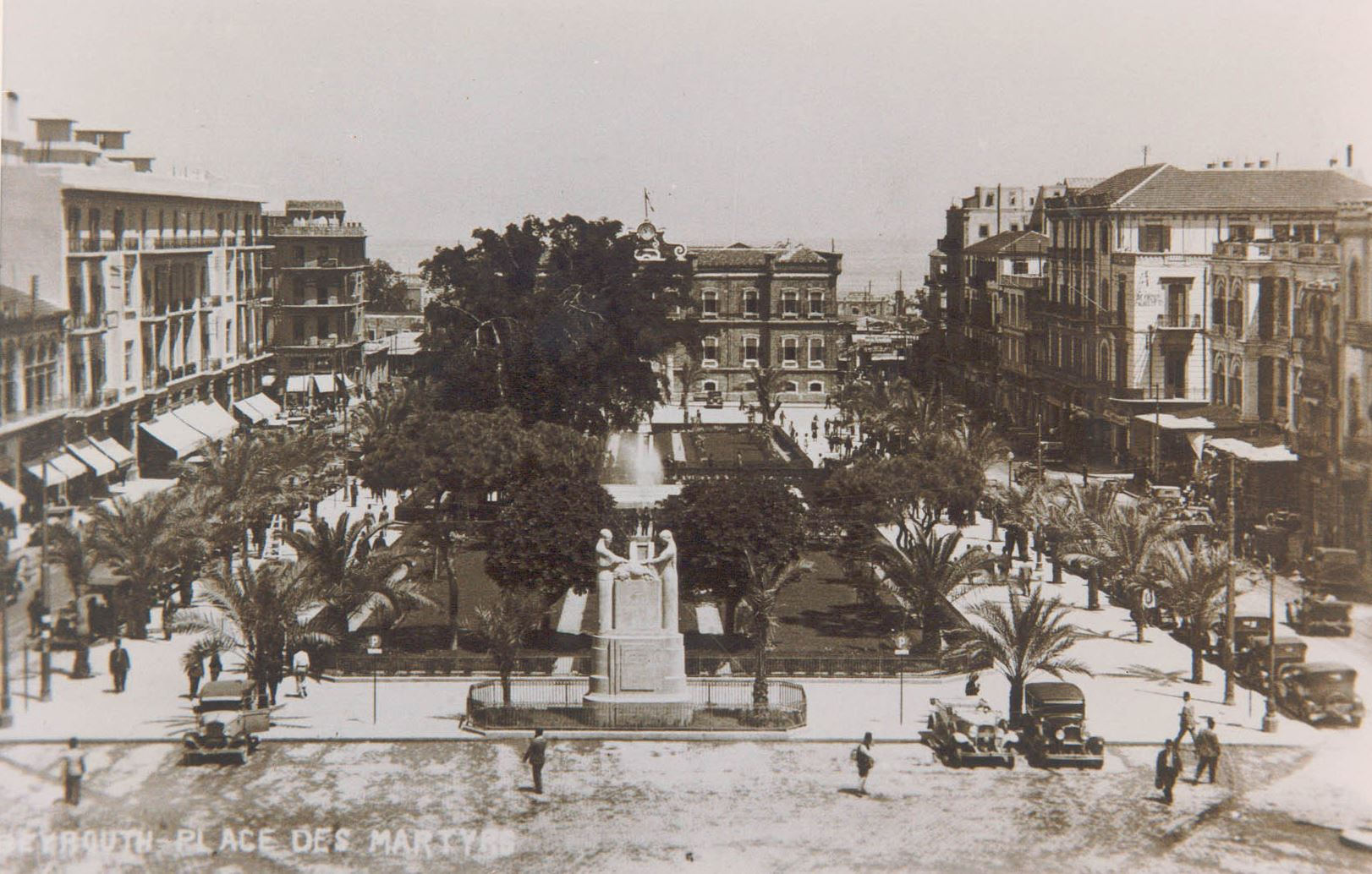 Martyrs Square / Place des Canons - Beirut 1930