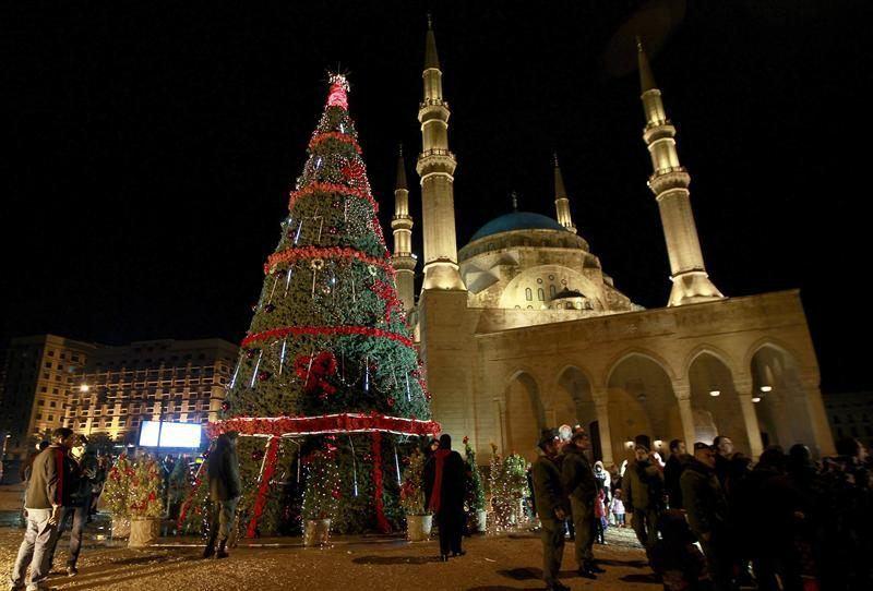 Christmas Tree - Beirut 2013