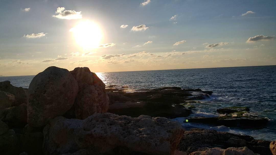 sun sunsetporn sunset ptk_sky silouette bestoftheday igcapturesclub... (Tabarja)