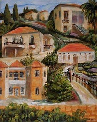 This is a beautiful painting of beinovillage by an artist from my village...
