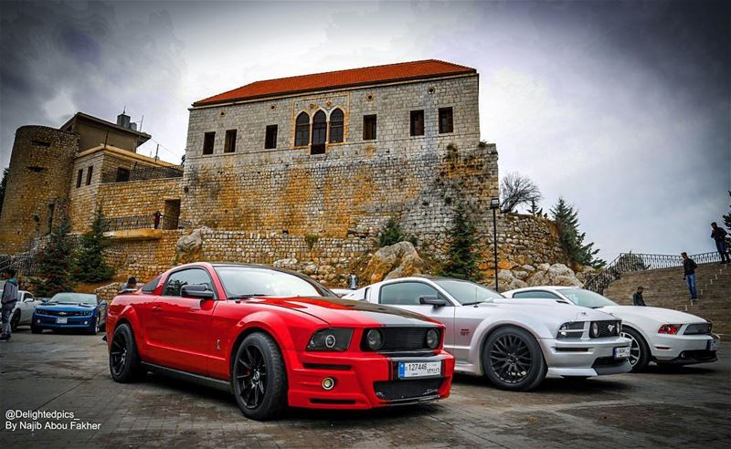 ford fordmustang americanmuscle car carporn love tbt rt gt power... (Rashaya Al Wady)