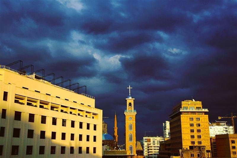 Beirut down town by @ap.images 🌥🌦🌧🇱🇧 lebanon lebanese beirut ...