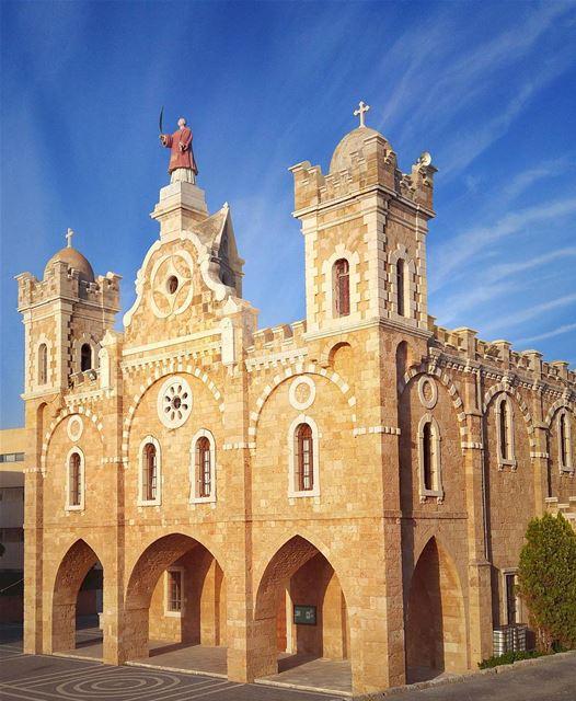 St. Stephan Beautiful Church - Batroun 🙏😍 lebanon nature naturelovers... (Batroûn)