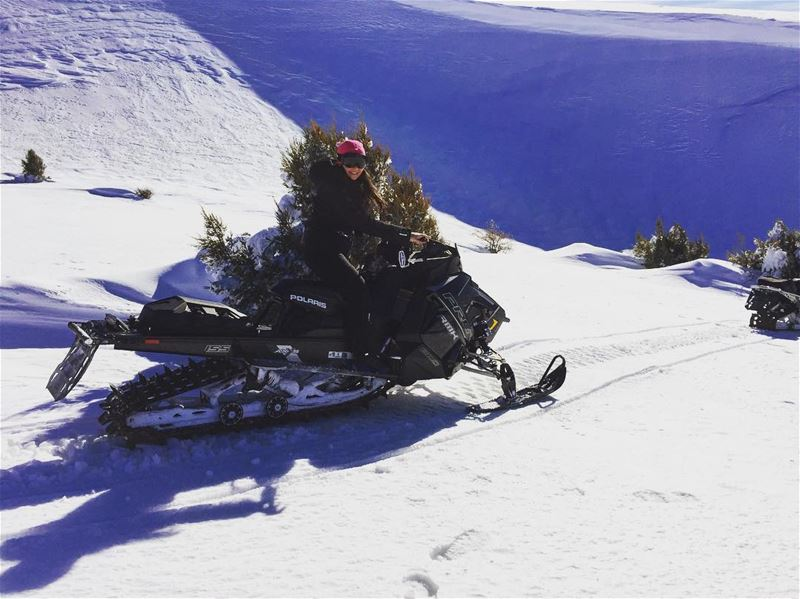 Snowmobile Lessons are still given in the middle of the week ! Girls if...