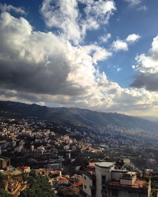 What a beautiful morning! 🌤 morning saturday lego city lebanon ... (Adma, Mont-Liban, Lebanon)