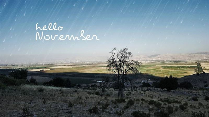 Hello November !!! LiveLoveLebanon ... (`Ammiq, Béqaa, Lebanon)