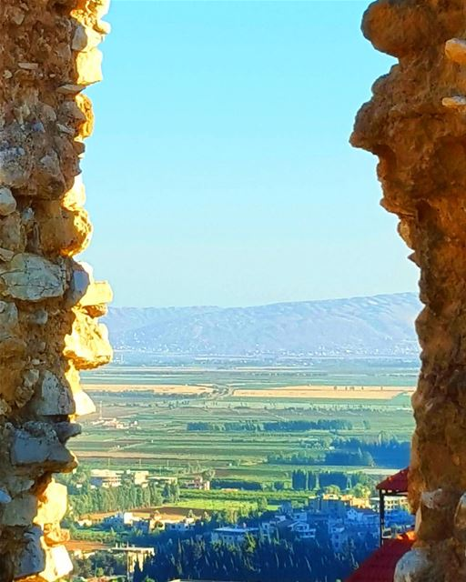 Set wide the window. Let me drink the day. LiveLoveLebanon ... (Bekaa Valley)