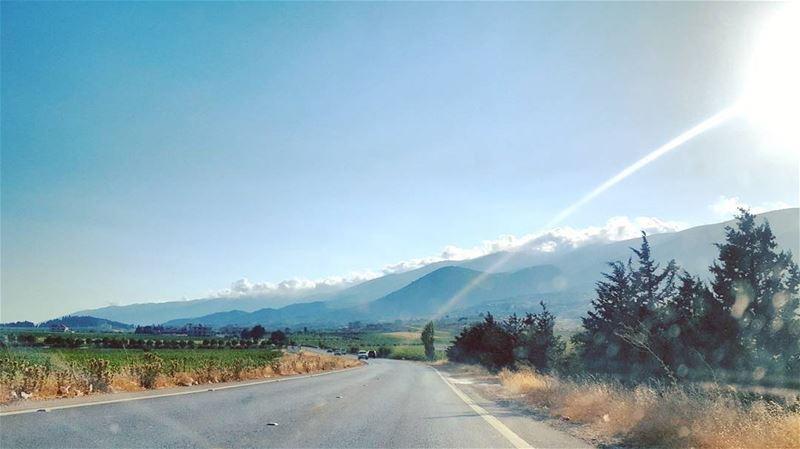 Sunday Morning Rides ... LiveLoveLebanon LiveLoveBekaa ... (Kefraya Bekaa)