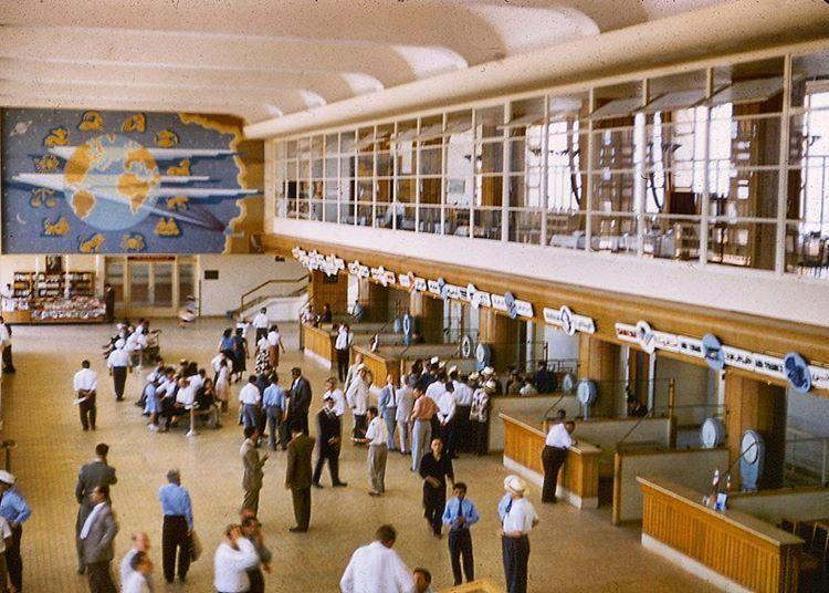 Beirut International Airport - 1969
