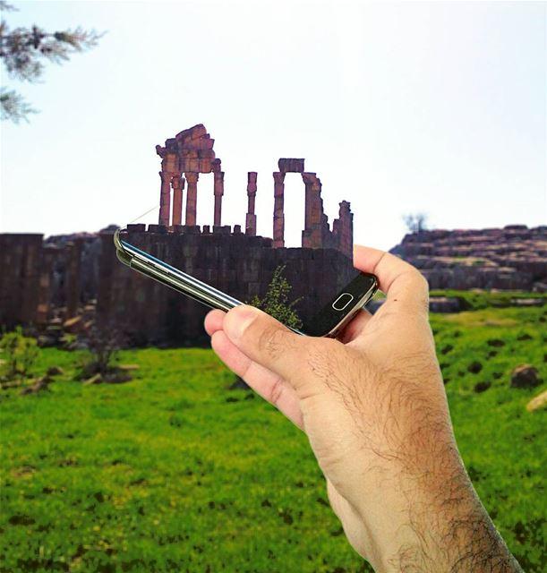 Faqra in MyPhone samsung s7edge Creative LiveLoveLebanon @liveloveleb (Faqra, Lebanon)