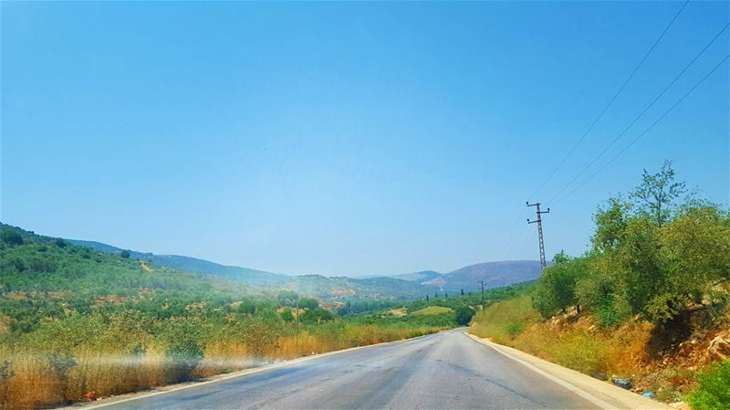 Road to South ... ... (Hasbaya, Al Janub)