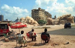 Beirut Martyrs Square 1997