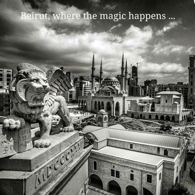 Beirut , where the Magic happens...