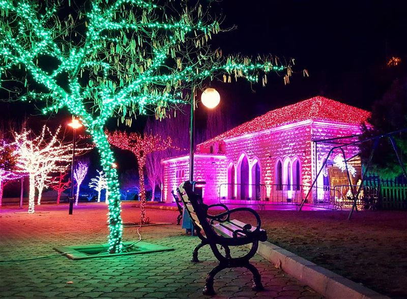 This is  Life In  Color.... In Love with My  Zahle 😍 (Zahle Joseph Skaf Park)