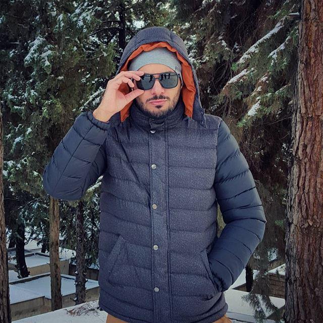 Let it Snow ❄⛄ livelovelebanon livelovebekaa ... (Qabb Ilyas, Béqaa, Lebanon)