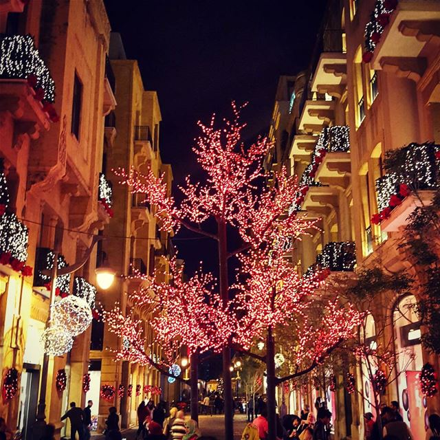 Christmas in ... (Uruguay Street- Downtown, Beirut)