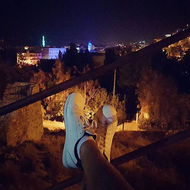 Enjoying my night at my favorite and beautiful place ... i belong here! (Beqaa Valley)