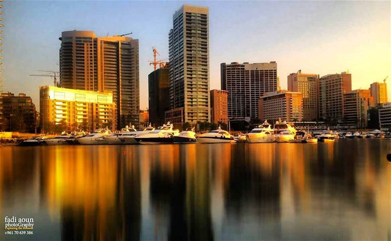 photo fadiaounphotography beirut sunset sea architecture buildings ...