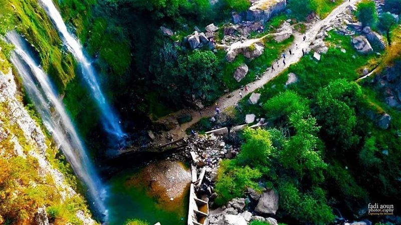 photo fadiaounphotography waterfall jezzine south lebanon ...