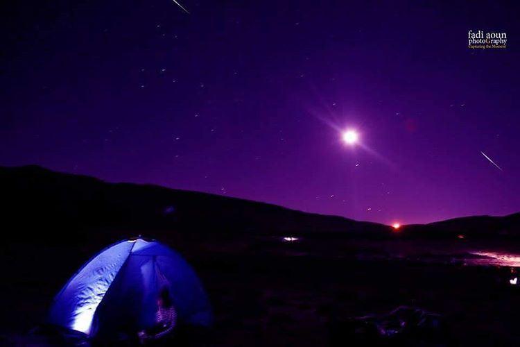 photo fadiaounphotography beirut sky moon tent photoinsta photoday...