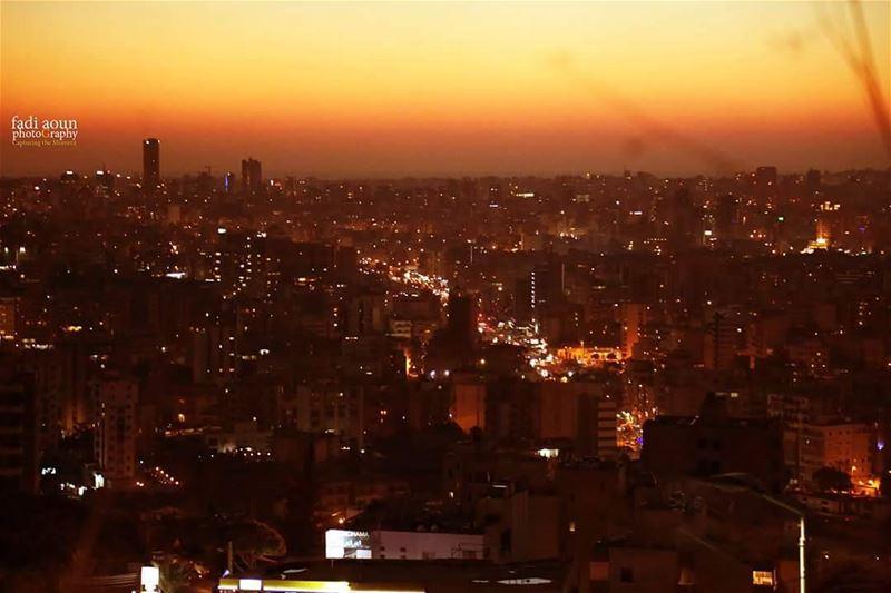 phoro sunset beirut lebanon lights cityscape architecture ...