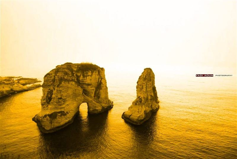 photo fadiaoun @faaoun beirut golden rawcheh photography seascape ...