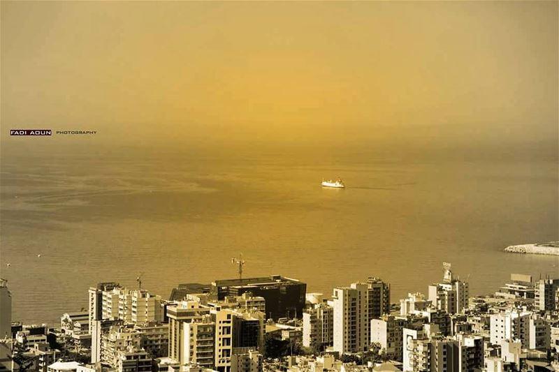photo fadiaoun @faaoun jaleldib marina dbayeh ship light sea sky ...