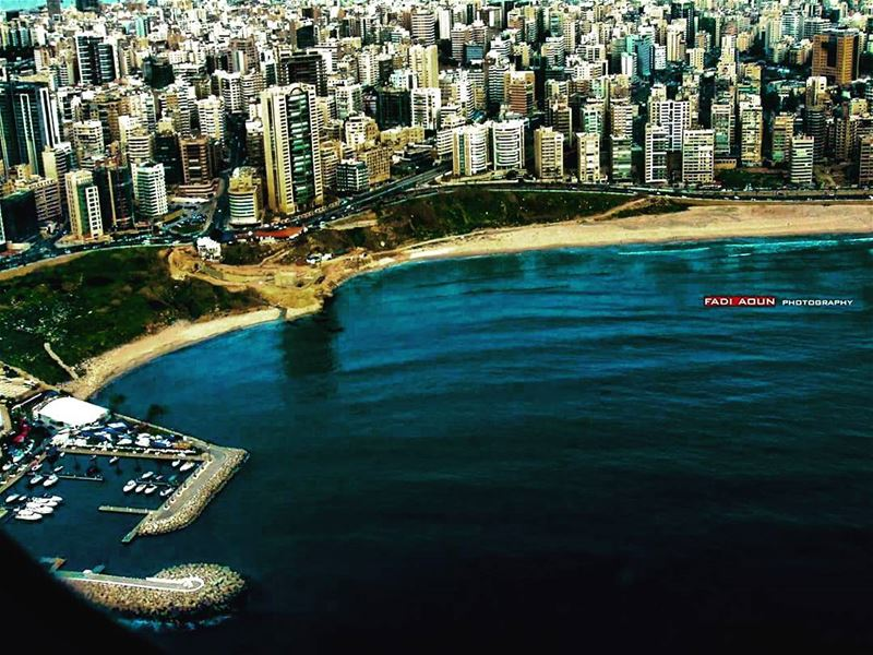 photo fadiaoun @faaoun beirut lebanon top view airplane view ...
