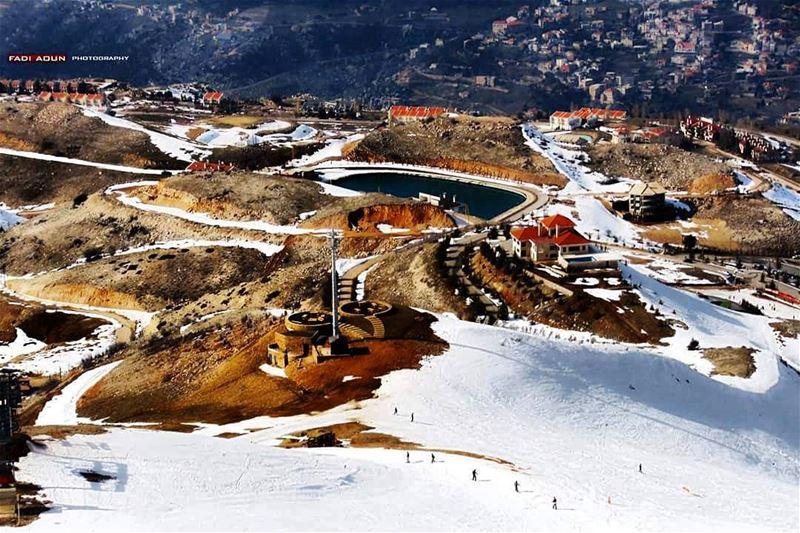 photo fadiaoun @faaoun lebanon snow architecture landscape ...