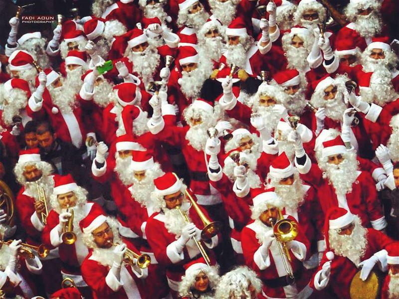 photo fadiaoun @faaoun Santa Christmas beirutsouks beirut ...