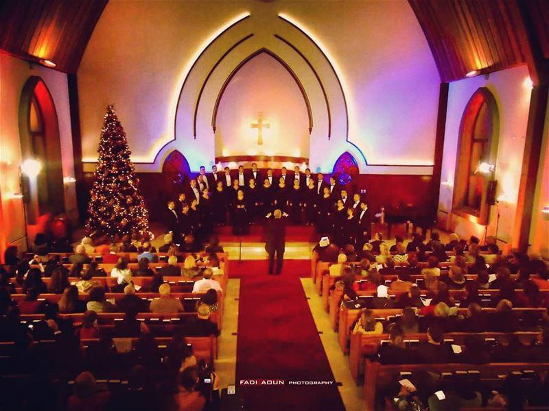 photo fadiaoun @faaoun choir church tree lebanon beirut ...