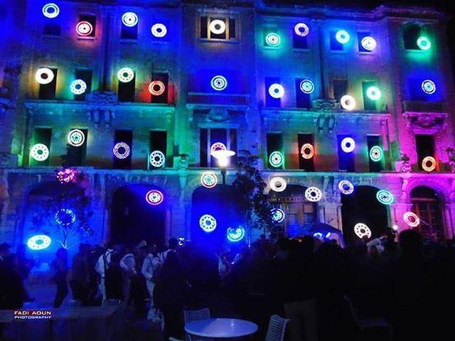 photo fadiaoun @faaoun Christmas lights beirutsouks beirut ...