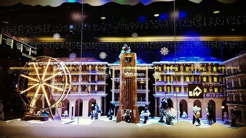 photo fadiaoun @faaoun Christmas windows beirut lebanon lights joy...