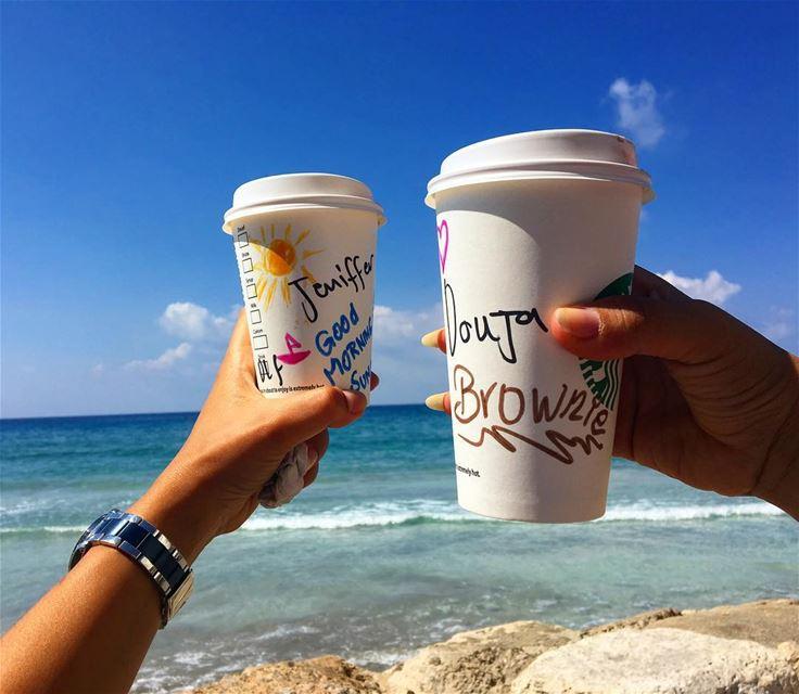 Good Morning Sunshine ☀️🎀 goodmorning sunshine friends livelovejnoub ... (Starbucks Tyre)