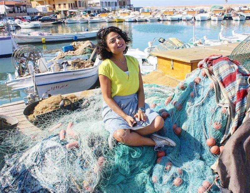 صيد اليوم .. سمكة كتير كبيرة 🐠🐠صيد موفق 💙⚓️ fishermen port ... (Tyre Fishermen Port.)