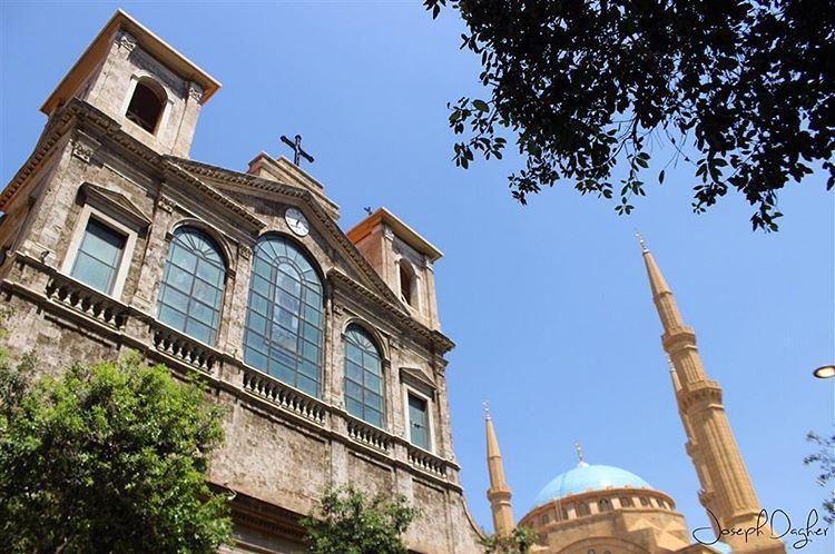 🌙فطر سعيد كل عيد ولبنان وشعب لبنان سوا (Downtown, Beirut, Lebanon)